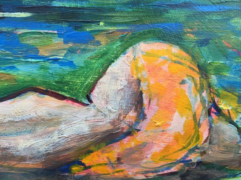 Woman In The Sea detail 1 800x600