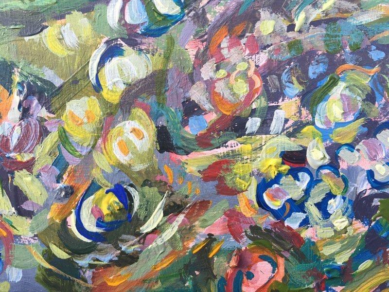 Orange Forest Multicolour flowers detail 4 800x600 x